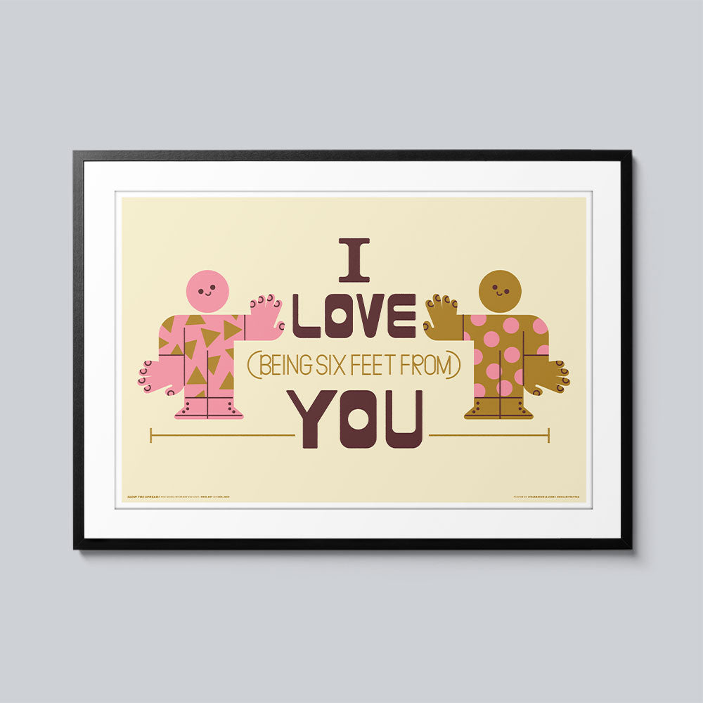I Love You - Set of 10 Posters