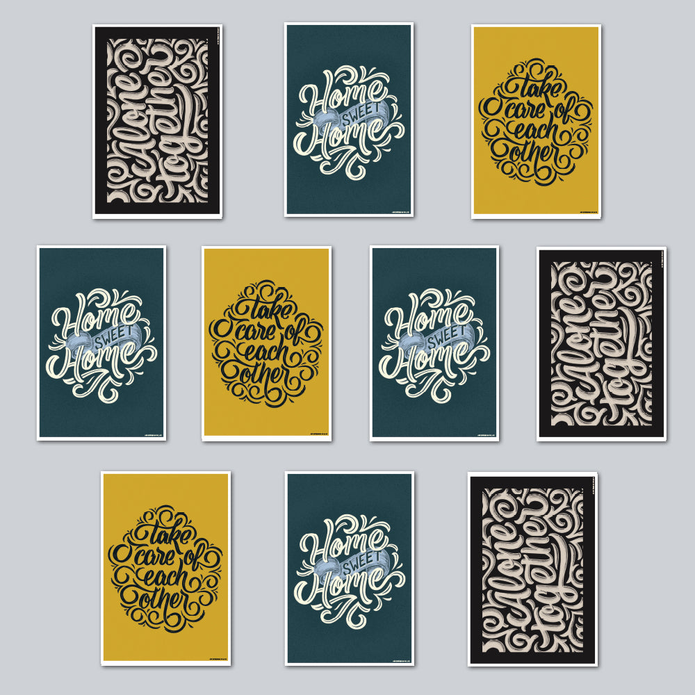 Joshua Phillips - Assorted Set of 10 Posters
