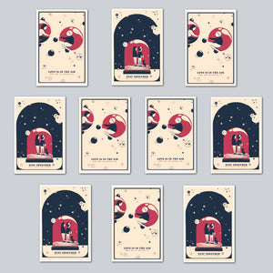 Alex Hanke - Assorted Set of 10 Posters