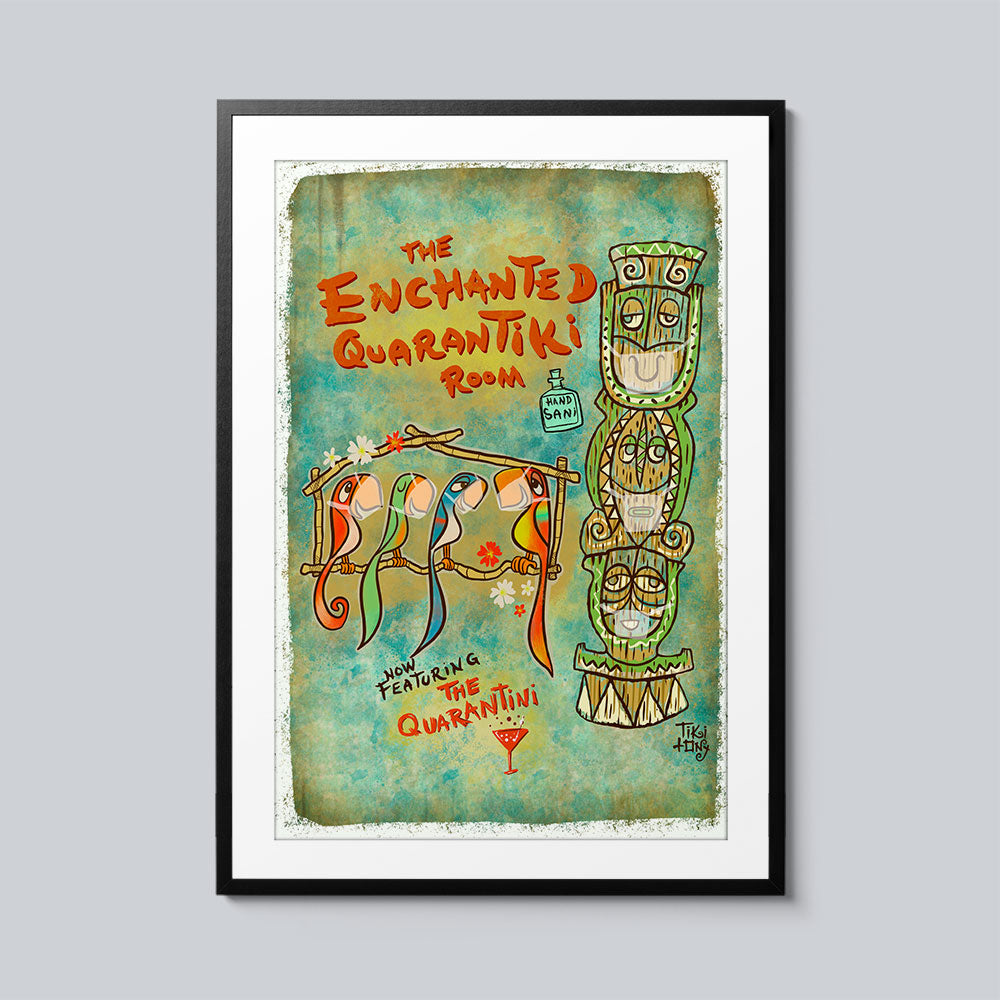 The Enchanted Quarantiki Room - Set of 10 Posters