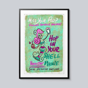 Miss Your Pod? - Set of 10 Posters