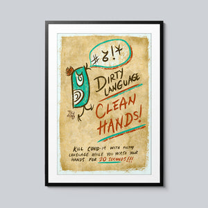 Dirty Language - Set of 10 Posters