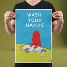 Load image into Gallery viewer, Wash Your Hands - Set of 10 Posters