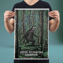Load image into Gallery viewer, Social Distancing Champion - Set of 10 Posters