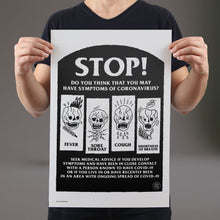 Load image into Gallery viewer, Stop! - Set of 10 Posters
