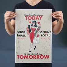 Load image into Gallery viewer, Support Small Businesses Today - Set of 10 Posters