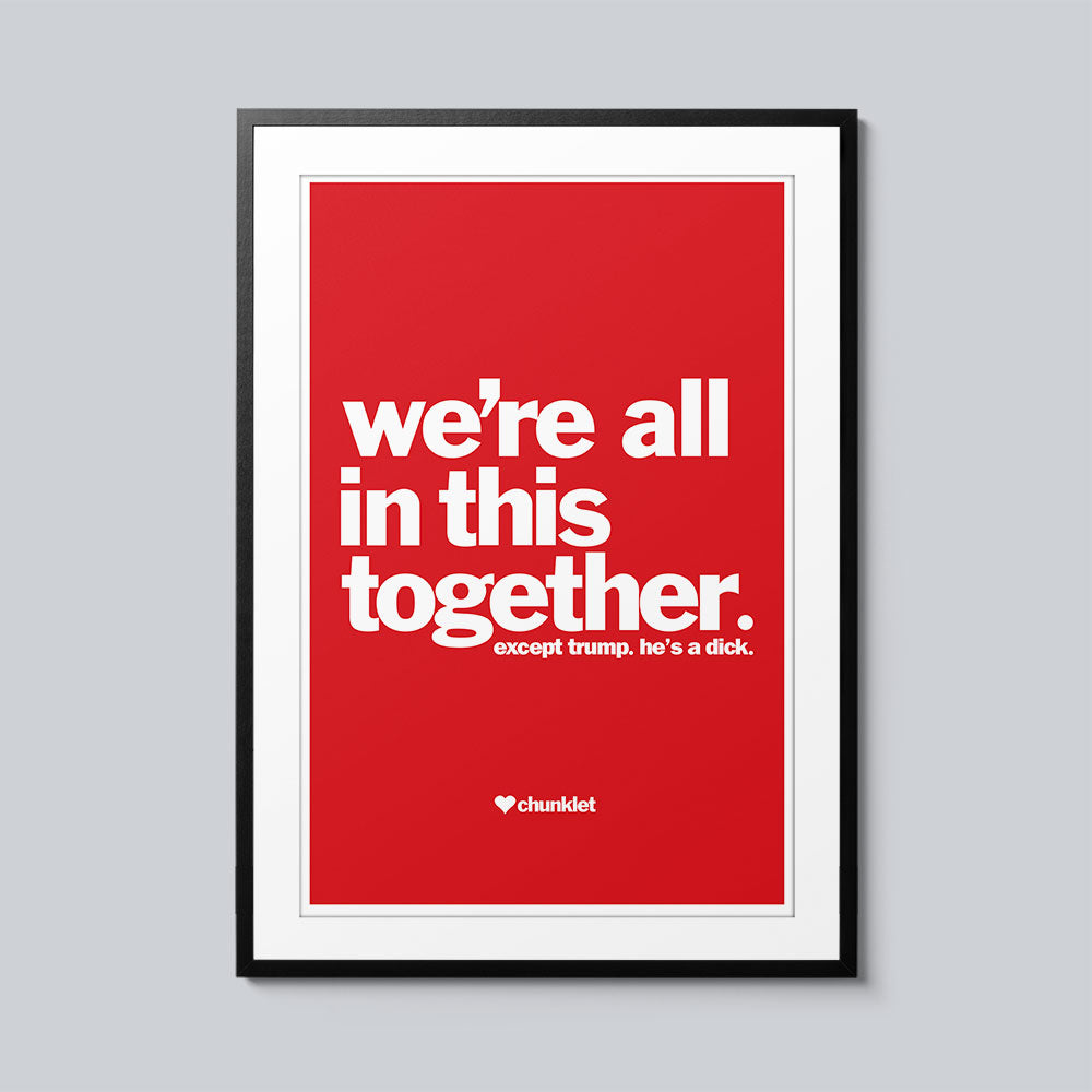 We're All In This Together - Set of 10 Posters