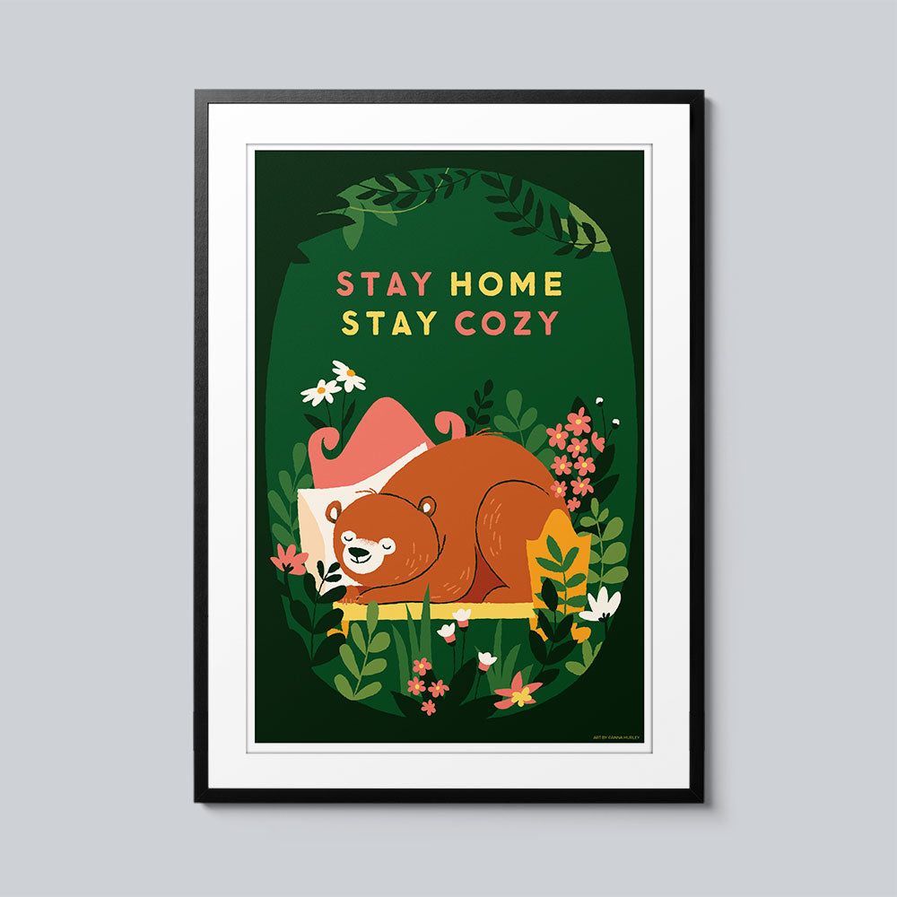 Stay Home, Stay Cozy - Set of 10 Posters