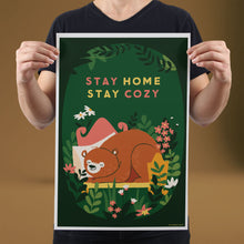 Load image into Gallery viewer, Stay Home, Stay Cozy - Set of 10 Posters