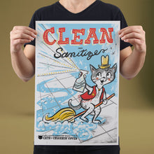 Load image into Gallery viewer, Clean and Sanitize - Set of 10 Posters
