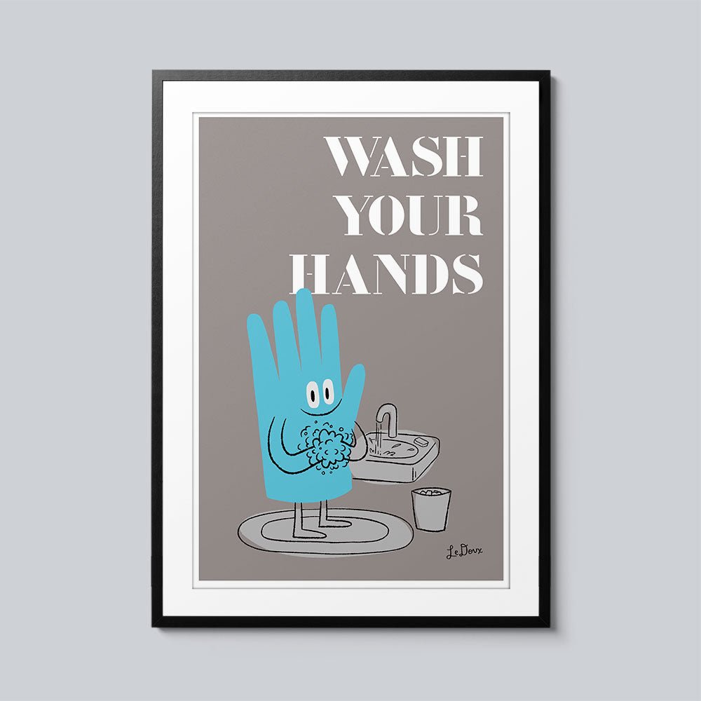 Wash Your Hands - Set of 10 Posters