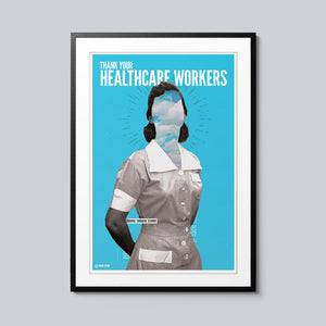 Thank Your Healthcare Workers - Set of 10 Posters