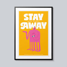 Load image into Gallery viewer, Stay Six Feet Away - Set of 10 Posters