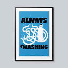 Load image into Gallery viewer, Always Washing - Set of 10 Posters
