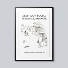 Load image into Gallery viewer, Keep Your Social Distance - Set of 10 Posters