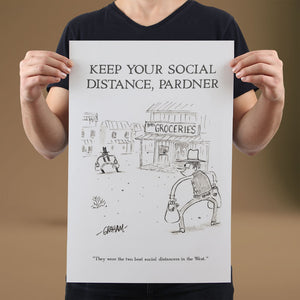 Keep Your Social Distance - Set of 10 Posters
