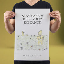 Load image into Gallery viewer, Stay Safe & Keep Your Distance - Set of 10 Posters