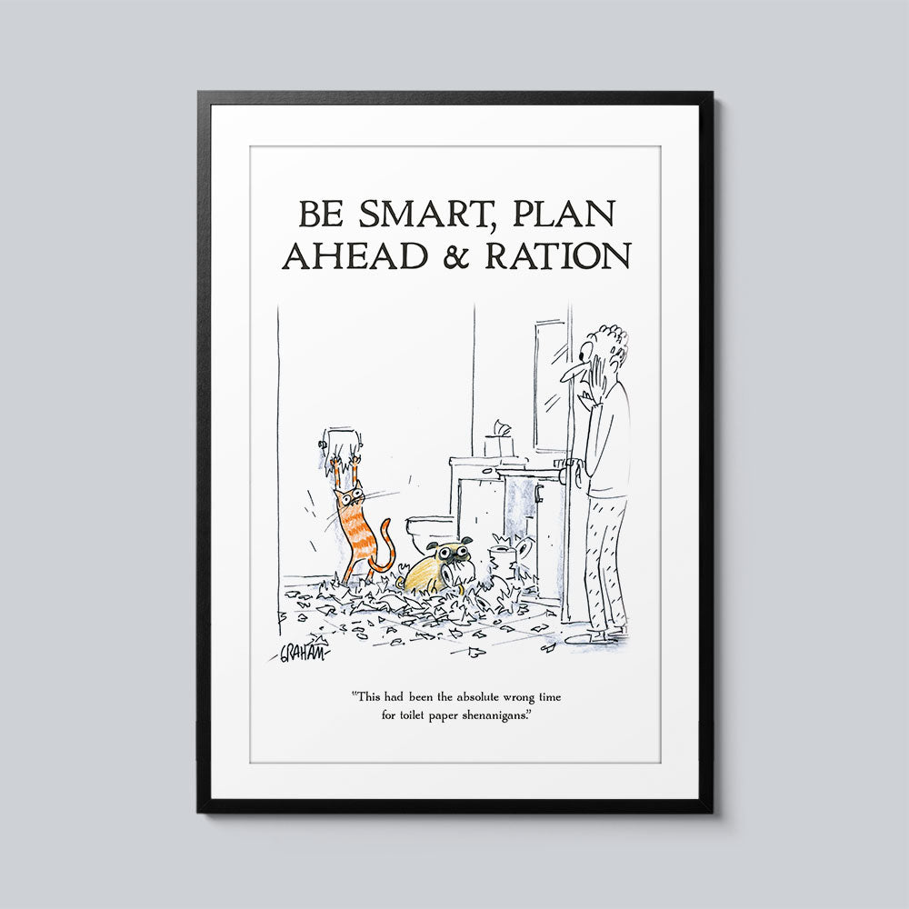 Be Smart, Plan Ahead, & Ration - Set of 10 Posters