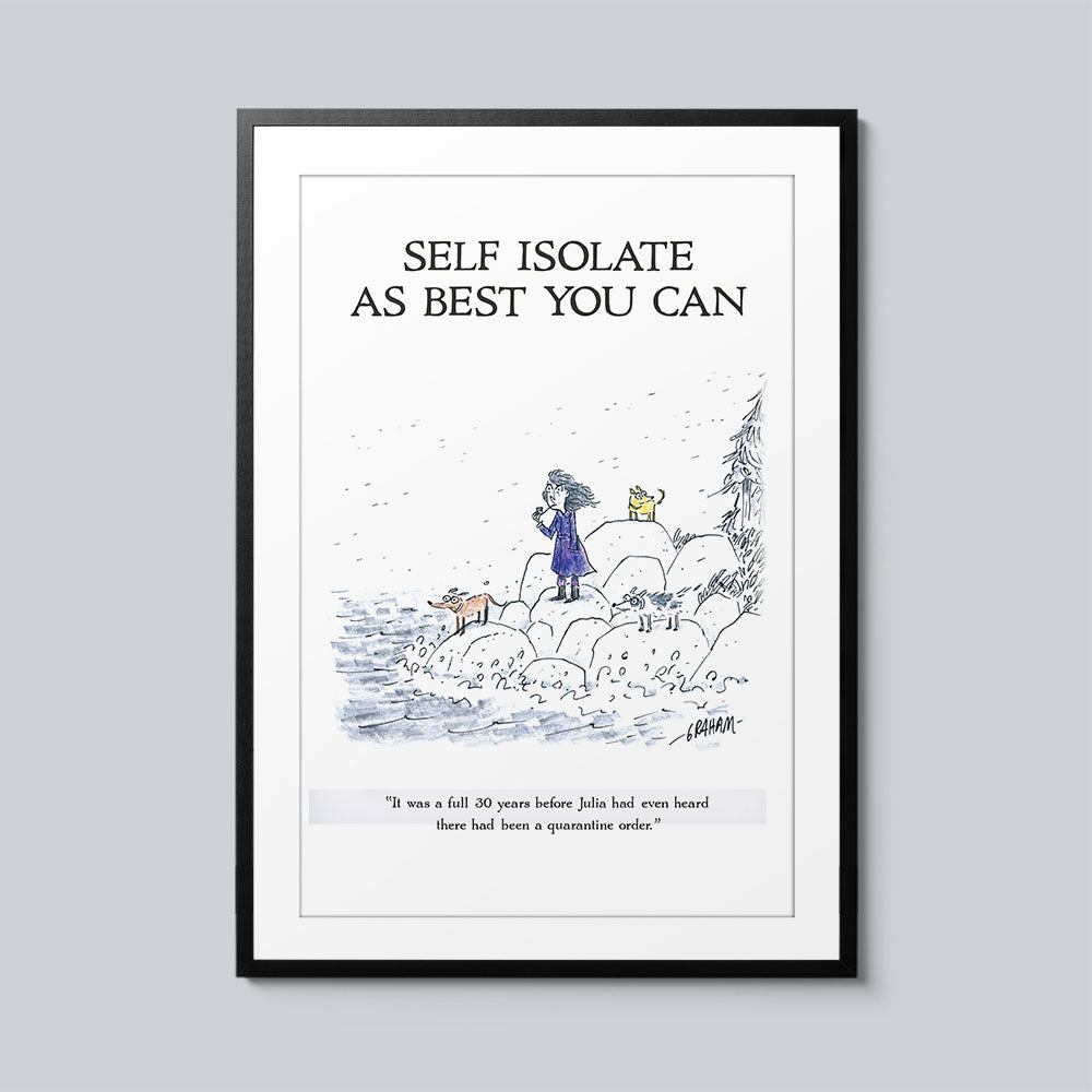 Self Isolate as Best You Can - Set of 10 Posters