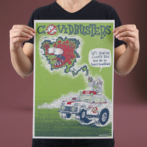 Covidbusters - Set of 10 Posters