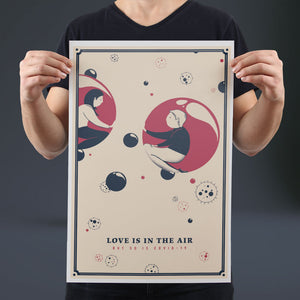 Love is in the Air - Set of 10 Posters