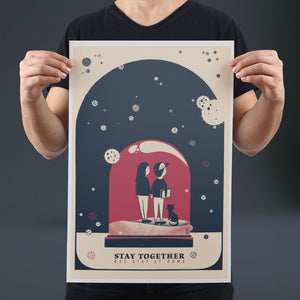 Stay Together - Set of 10 Posters