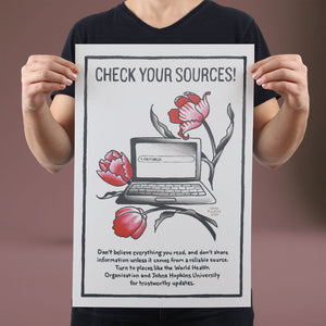 Check Your Sources - Set of 10 Posters