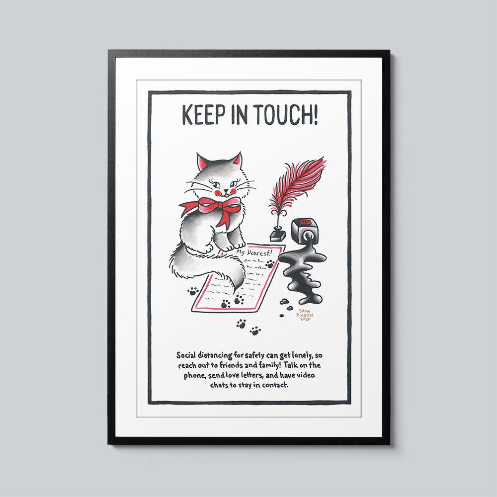 Stay in Touch - Set of 10 Posters