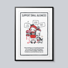Load image into Gallery viewer, Support Small Business - Set of 10 Posters