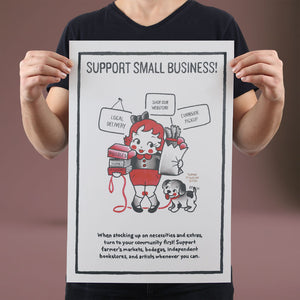 Support Small Business - Set of 10 Posters