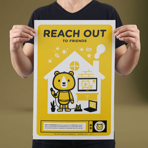 Reach Out - Set of 10 Posters