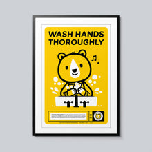 Load image into Gallery viewer, Wash Hands - Set of 10 Posters