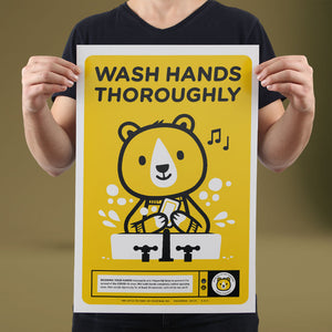 Wash Hands - Set of 10 Posters
