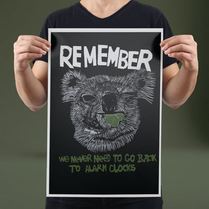 Remember - Set of 10 Posters