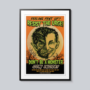 Resist the Urge - Set of 10 Posters