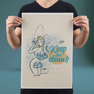 Keep 'em Clean - Set of 10 Posters