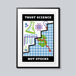 Trust Science - Set of 10 Posters