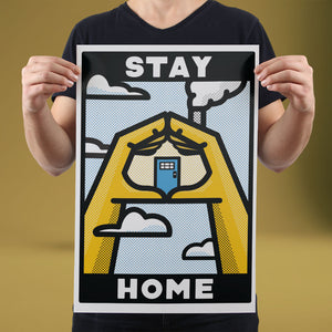Stay Home - Set of 10 Posters