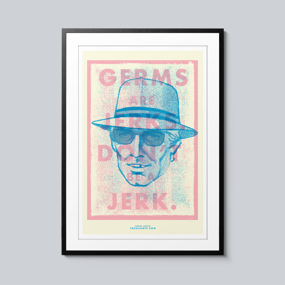 Germs are Jerks - Set of 10 Posters