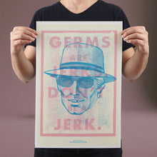 Load image into Gallery viewer, Germs are Jerks - Set of 10 Posters