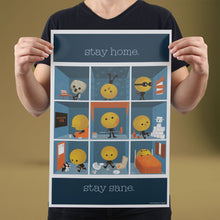 Load image into Gallery viewer, Stay Home, Stay Sane - Set of 10 Posters