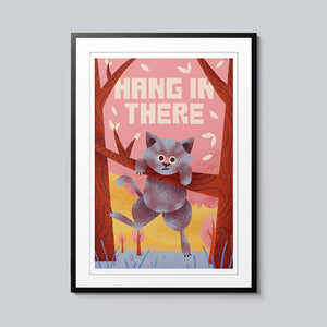 Hang In There - Set of 10 Posters