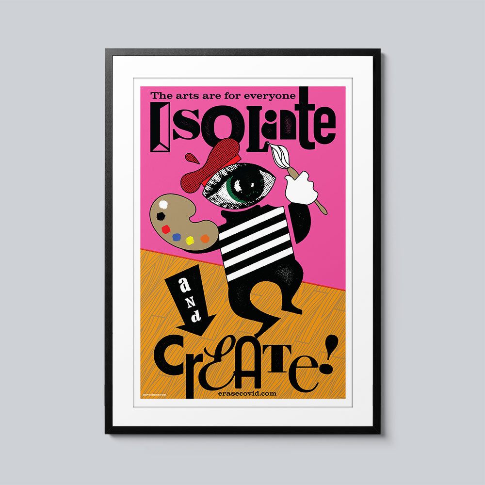 Isolate and Create - Set of 10 Posters