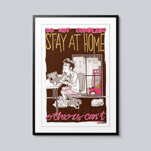 Stay At Home - Set of 10 Posters