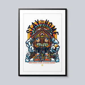 Stay the F*** Home - Set of 10 Posters