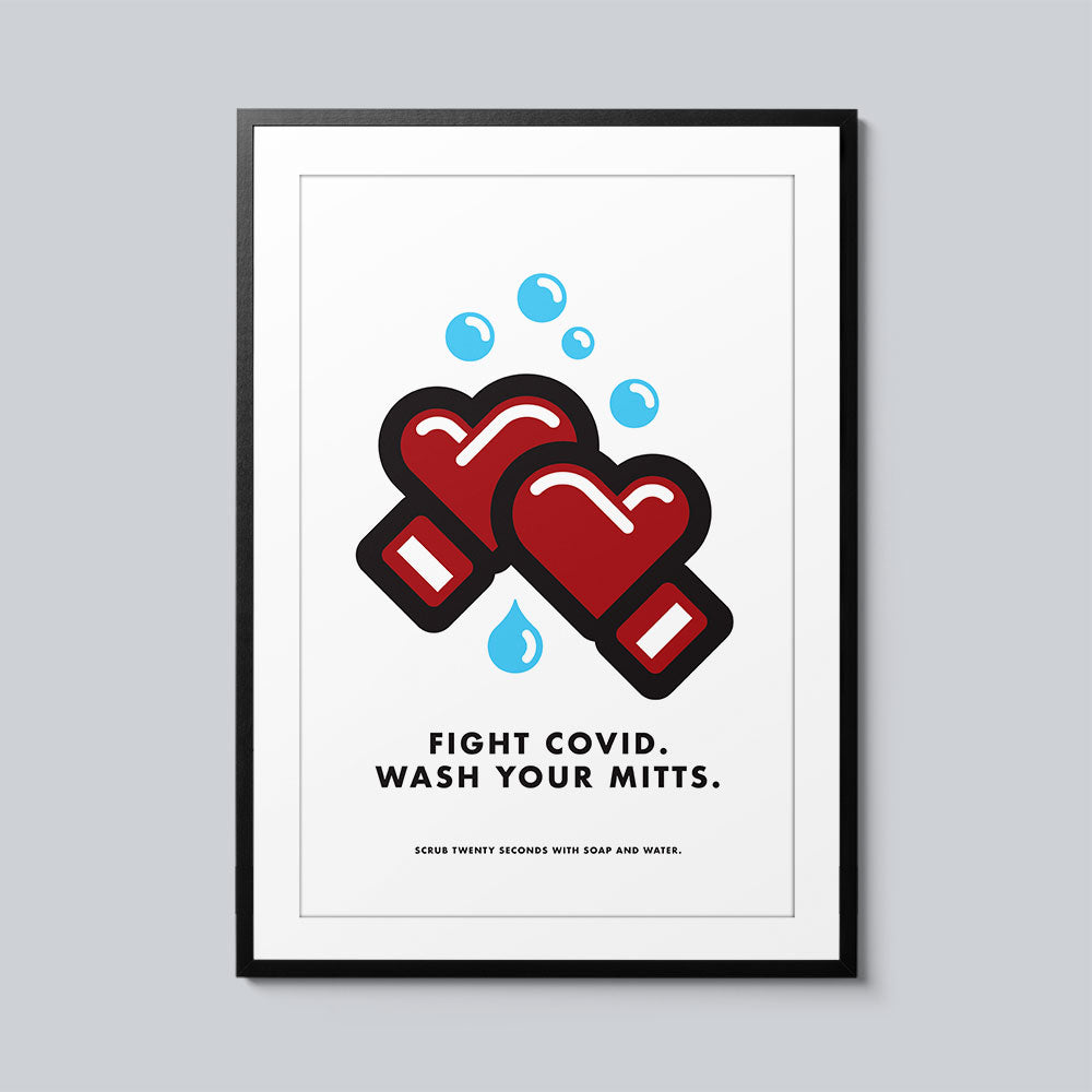 Fight Covid - Set of 10 Posters