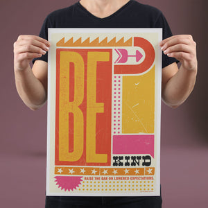 Be Kind - Set of 10 Posters