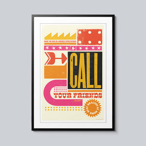Call - Set of 10 Posters