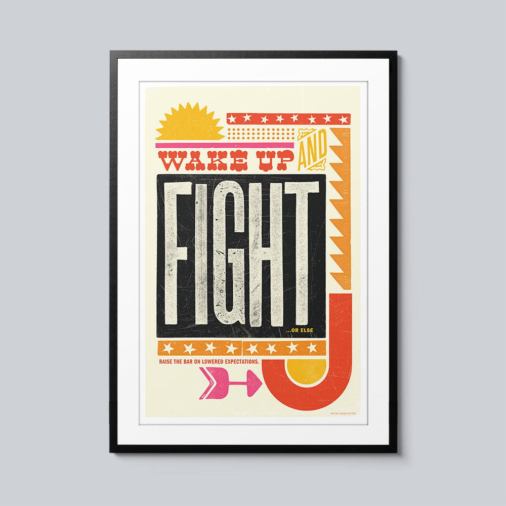 Fight - Set of 10 Posters
