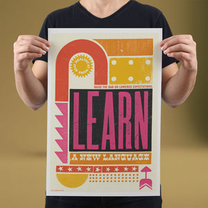 Learn - Set of 10 Posters